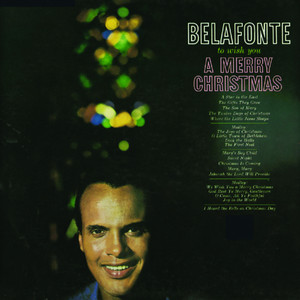 Omslaget till julskivan To Wish You A Merry Christmas av Harry Belafonte.